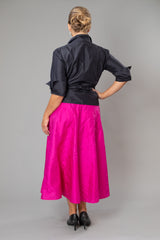 Cocktail Skirt - Fuschia Pink