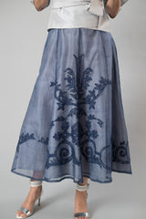 Lace Applique Skirt