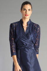 Lace Bolero - Midnight Blue