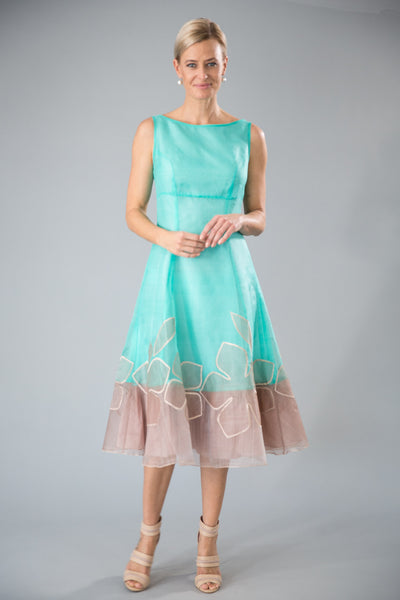 Larissa Dress - Turquoise