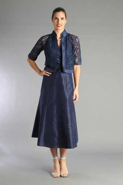 Lace Jacket - Midnight Blue