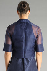 Organza Jacket - Midnight