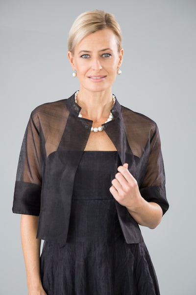 Organza Jacket - Black