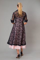 Lace Coat - Black