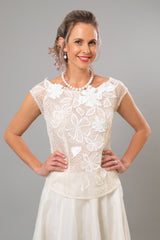 Reminiscence Top - For the Understated Bride