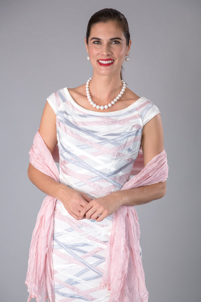 Soft Silk Shawl - Soft Pink
