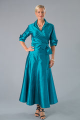 Cocktail Skirt - Teal