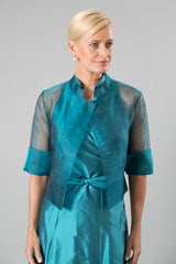 Organza Jacket - Teal