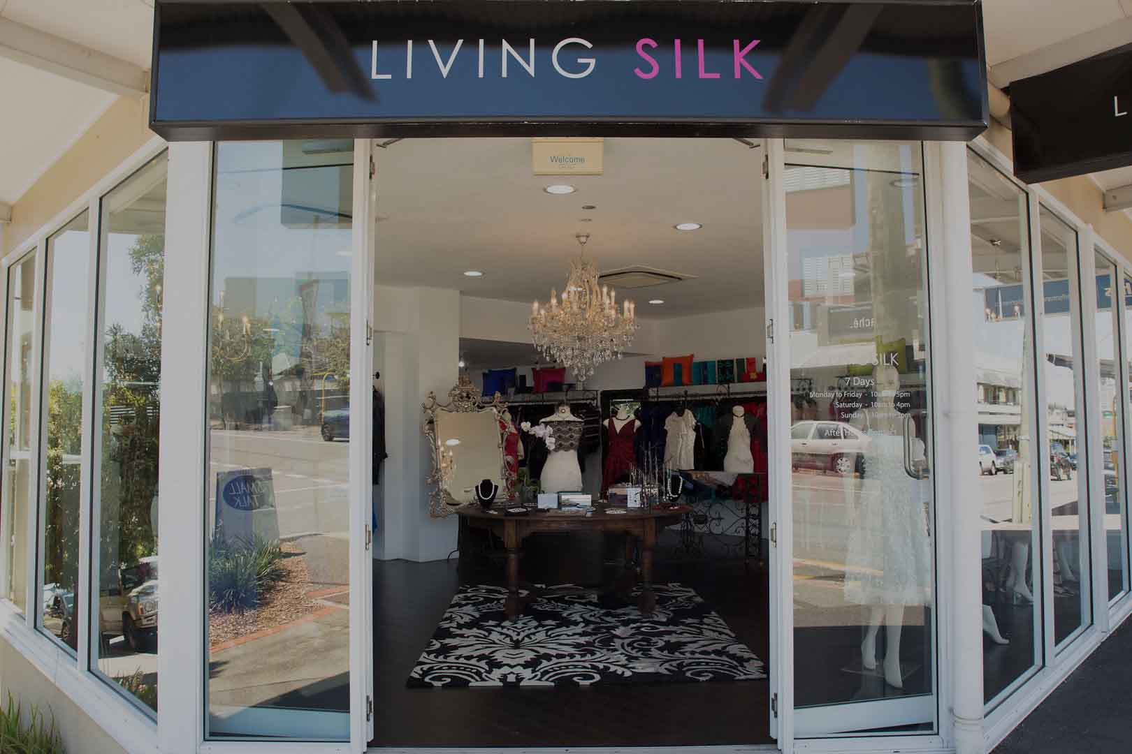 Living Silk - Shop Front