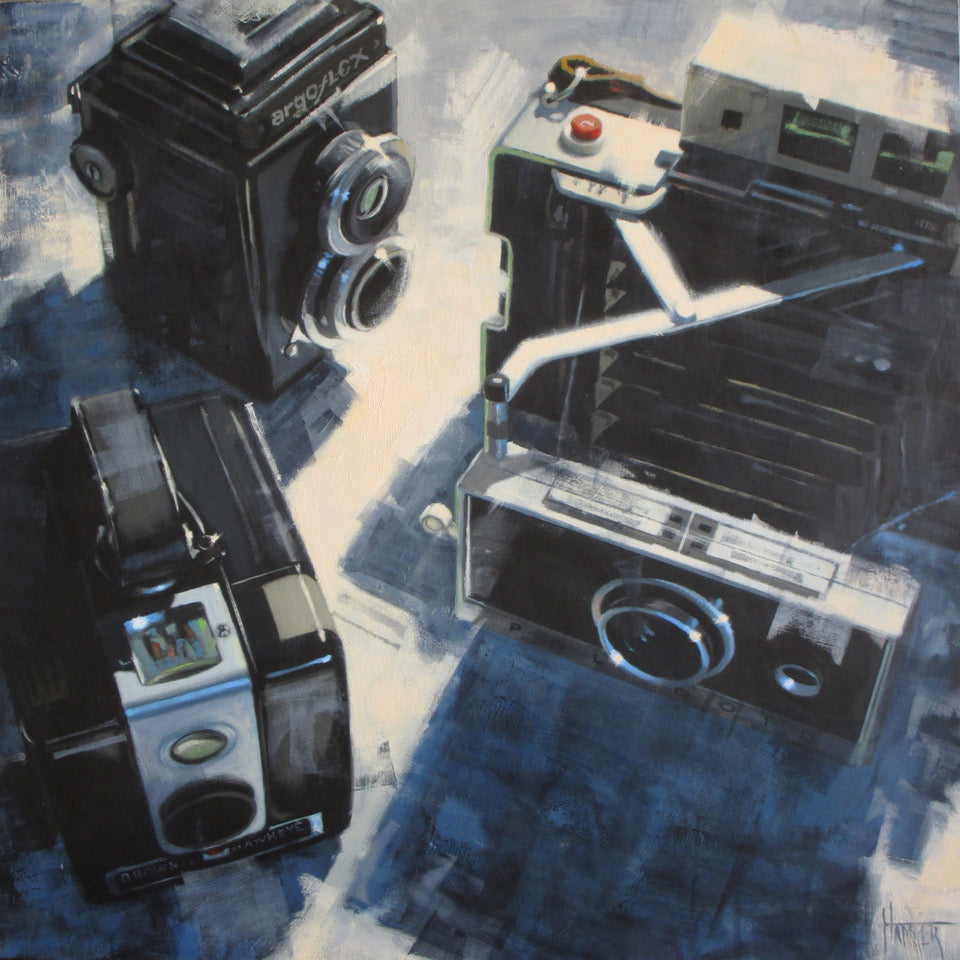 Camera's I Remember -- SOLD - PYRO Gallery