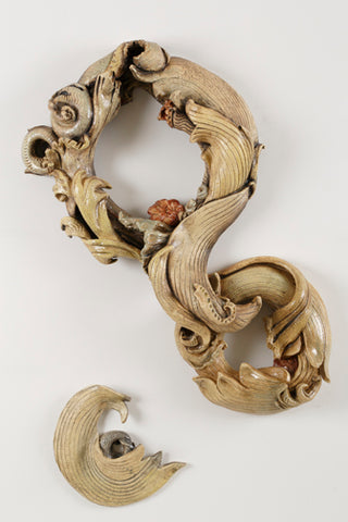 Spiral Wreath Form
