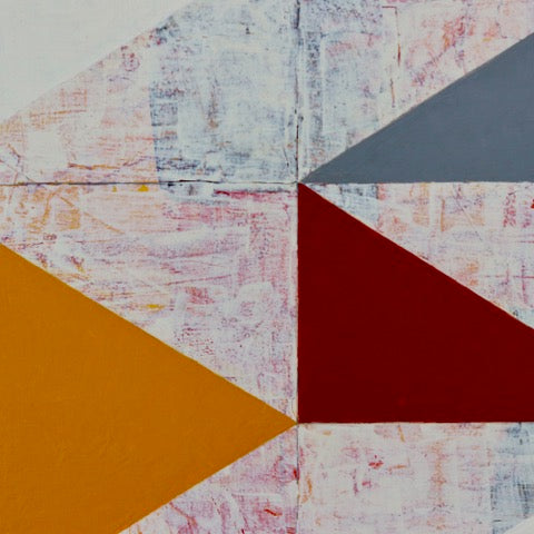 Triangular Markings (Detail) : Anne Huntington - PYRO Gallery