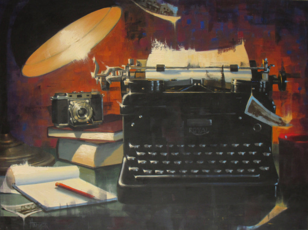 Journalism -- SOLD - PYRO Gallery