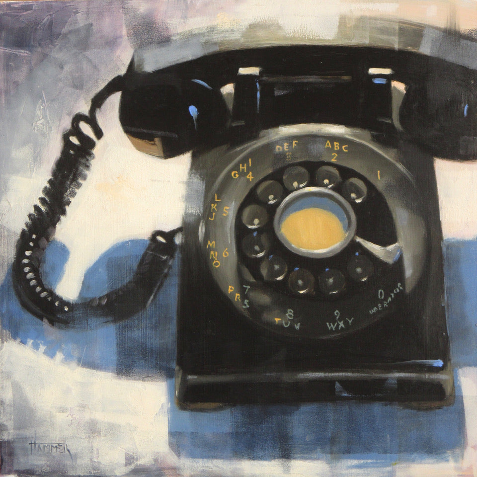 Rotary Phone -- SOLD - PYRO Gallery