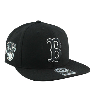 '47 Boston Red Sox Sure Shot Black/Black Snapback