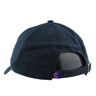 '47 Chicago Cubs Clean Up Navy/Navy Slouch Strapback