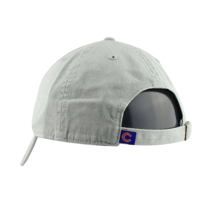 '47 Chicago Cubs Clean Up Storm Gray/Gray Slouch Strapback