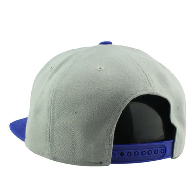 '47 Chicago Cubs Sure Shot Two Tone Captain Gray/Blue Snapback