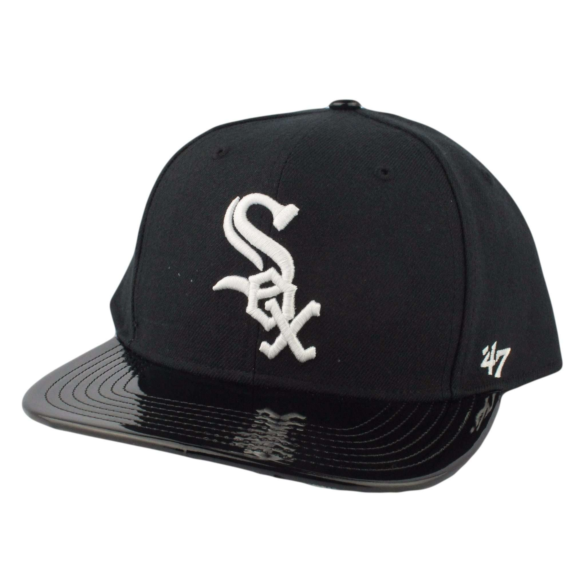 d52bce96a8d Chicago White Sox Shinedown Black Black Snapback