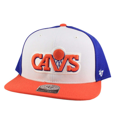 '47 Cleveland Cavaliers Amble White/Orange Snapback