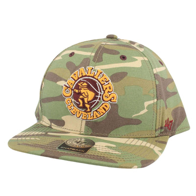 '47 Cleveland Cavaliers Soldier of Fortune Camo/Camo Snapback