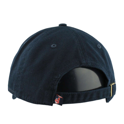 '47 Cleveland Indians Clean Up Navy/Navy Slouch Strapback