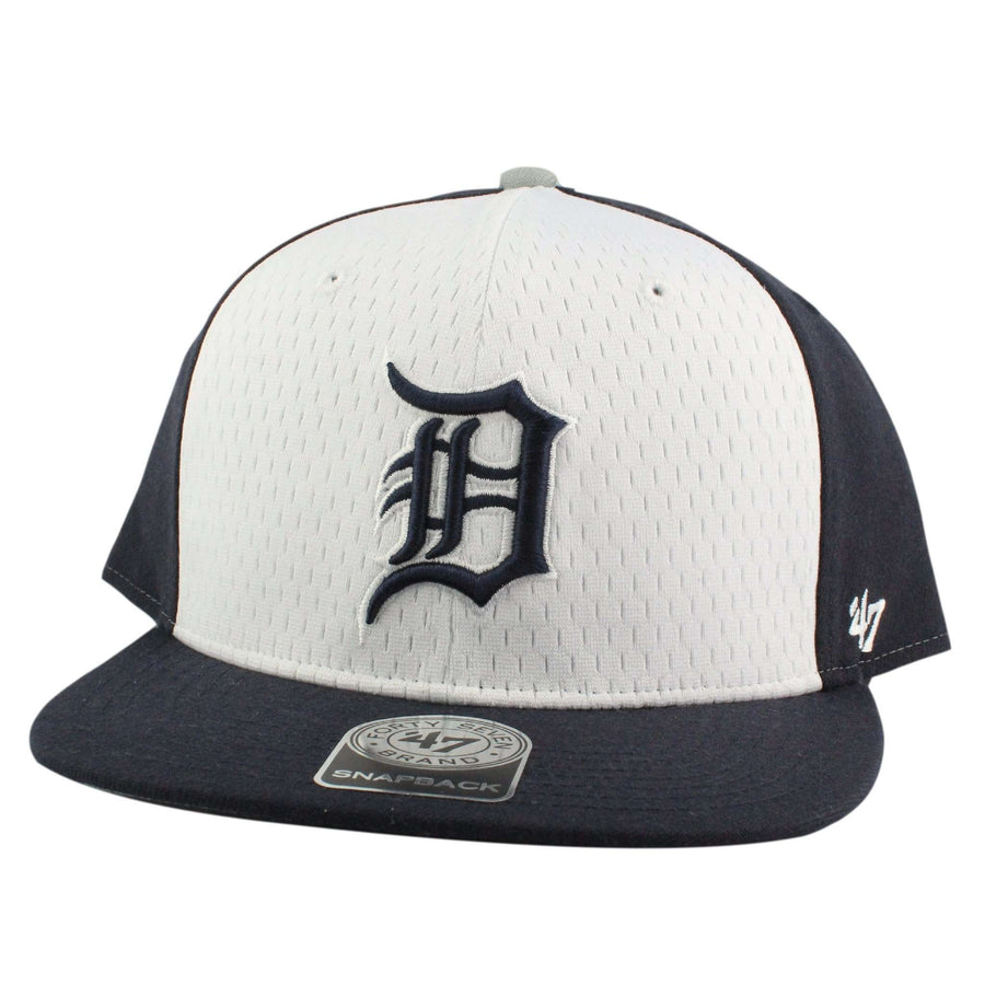 timeless design a5f5b 1a059 ... italy 47 detroit tigers backboard white blue snapback 2eb40 61057