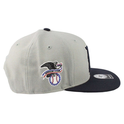 '47 Detroit Tigers Sure Shot Two Tone Gray/Blue Snapback