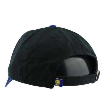 '47 Golden State Warriors HWC Clean Up Black/Blue Slouch Strapback