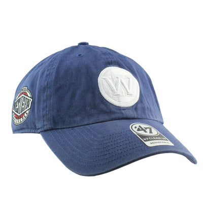 '47 Golden State Warriors Timber Clean Up Blue/Blue Slouch Strapback