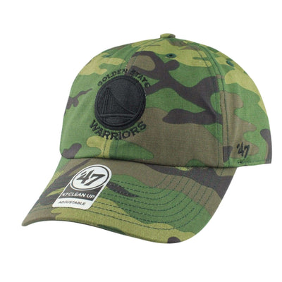 '47 Golden State Warriors Unwashed Camo/Camo Slouch Strapback