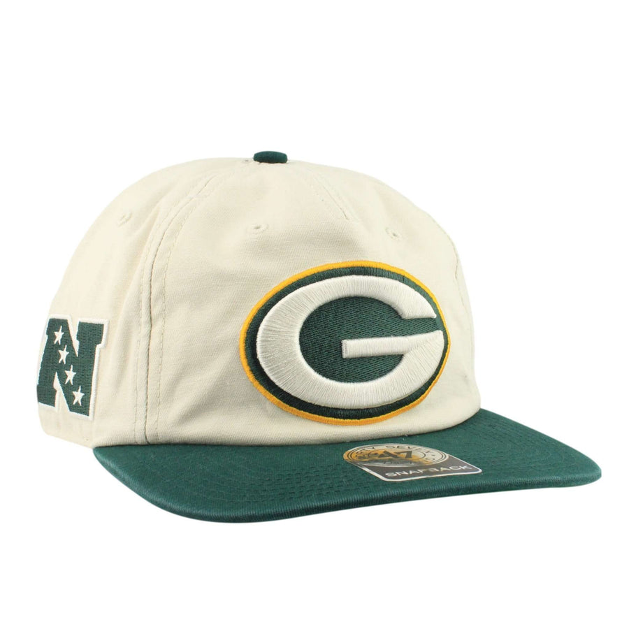 47 Green Bay Packers Natural Marvin Tan Green Snapback 2ce14576e
