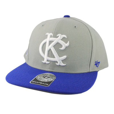 '47 Kansas City Athletics Cooperstown Sure Shot Gray/Blue Snapback
