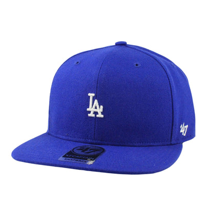 '47 Los Angeles Dodgers Centerfield Blue/Blue Snapback