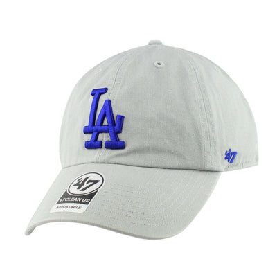 '47 Los Angeles Dodgers Clean Up Storm Gray/Gray Slouch Strapback