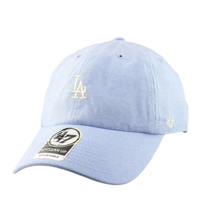 '47 Los Angeles Dodgers Periwinkle Monument Clean Up Slouch Strapback