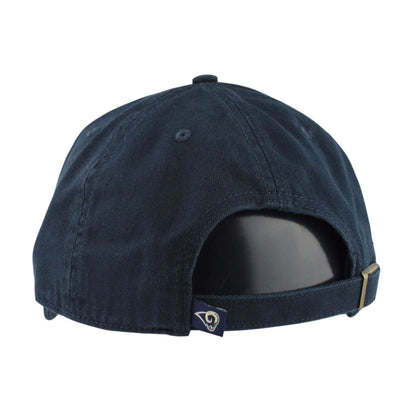 '47 Los Angeles Rams Clean Up Navy/Navy Slouch Strapback