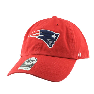 '47 New England Patriots Clean Up Red/Red Slouch Strapback