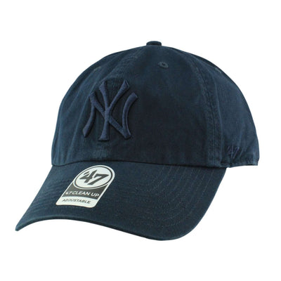 '47 New York Yankees Clean Up All Navy/Navy Slouch Strapback