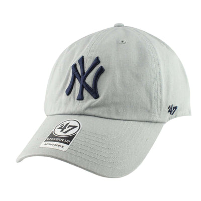 '47 New York Yankees Clean Up Storm Gray/Gray Slouch Strapback