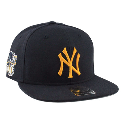 '47 New York Yankees Yellow Sure Shot Navy/Navy Snapback