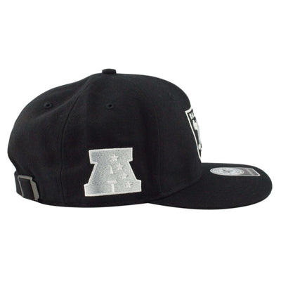 '47 Oakland Raiders Super Shot Black/Black Strapback