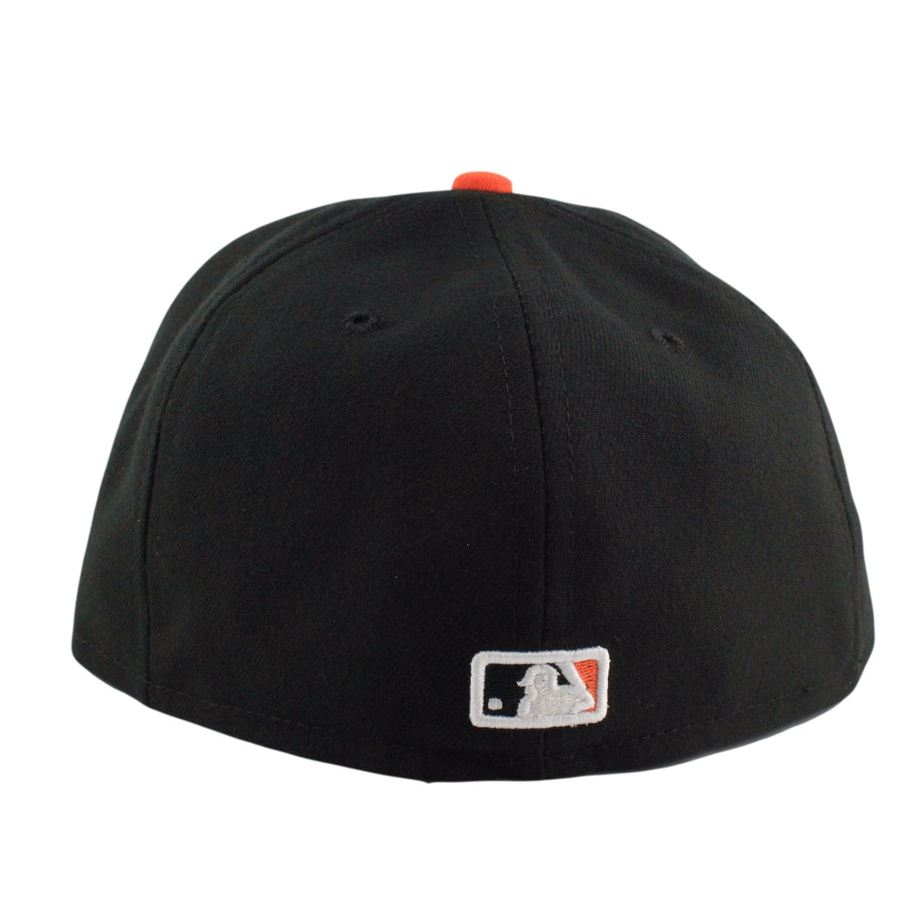 San Francisco Giants Game Black/Black Fitted - Bespoke Cut and Sew - 3