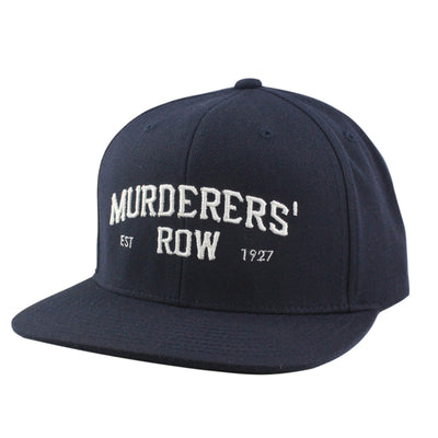 Retired Numbers:Retired Numbers Murderers' Row Navy/Navy Snapback