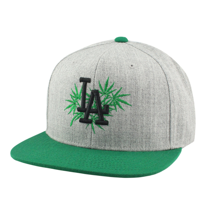 Retired Numbers Retired Numbers LA Weed Gray Green Snapback 32d131ee4e29