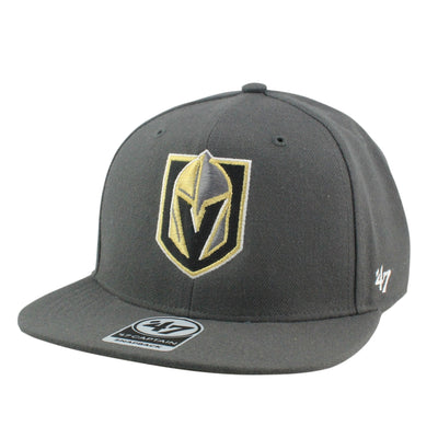 '47 Vegas Golden Knights No Shot Charcoal/Charcoal Snapback