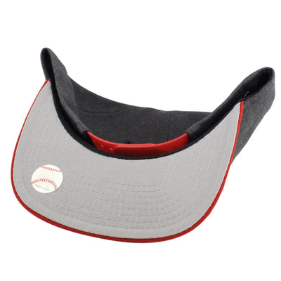New Era St. Louis Cardinals Heather Grapite Gray/Red Snapback