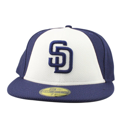 New Era San Diego Padres Diamond Era 2016 Blue/White/Blue Fitted