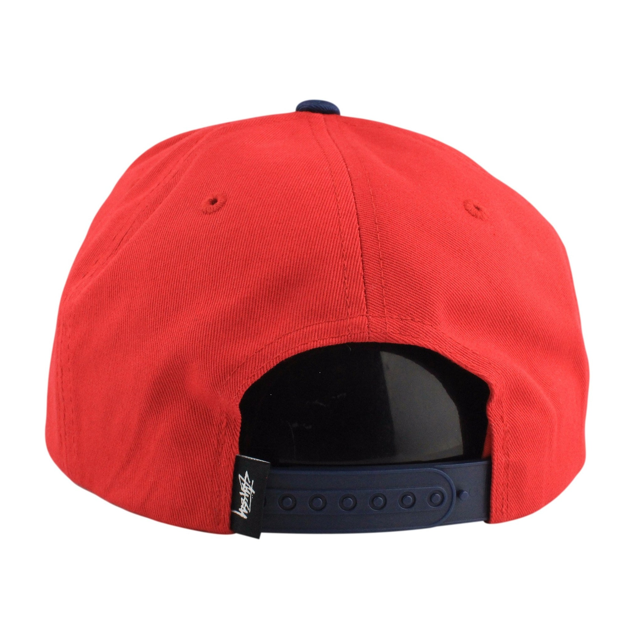 d115a129590 Stussy Stussy Stock Lock Red Blue Snapback