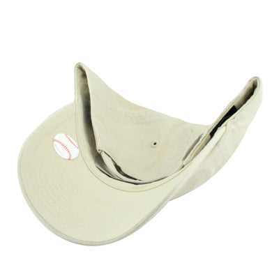 '47:San Francisco Giants Clean Up Natural Cream/Cream Slouch Strapback